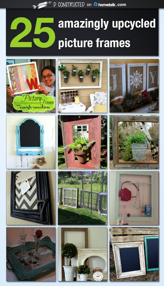 25 Upcycled Picture Frames
